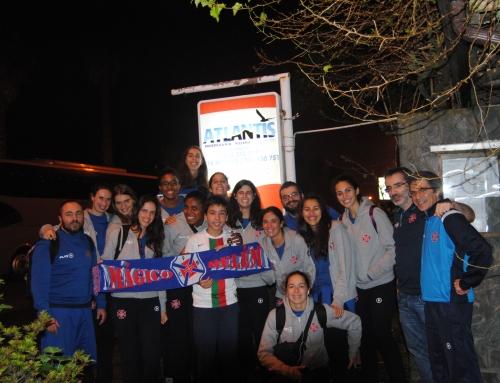 Equipa de Voleibol Feminino FC Os Belenenses Janta na Pizzaria Atlantis